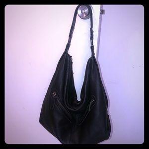 Black linea pelle bag